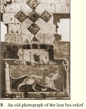 lionbasrelief